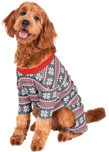 Fair Isle Pet outfit winter dog