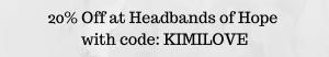 Headbands of Hope Discount Code