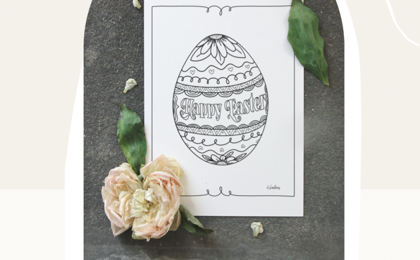 Free Easter ColoringPages
