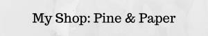 Pine And Paper Trading Co Etsy Kimilove Illustration Artist