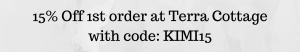 Terra Cottage discount code